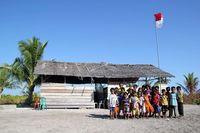 Kisah Sekolah Laskar Pelangi dari Pulau Dua Laut, Morowali
