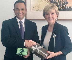 Sambut Anies Baswedan, Menlu Australia Kenang Kunjungannya ke Tanah Abang