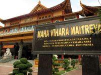 Vihara Terbesar Indonesia Ada di Medan