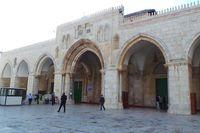 Alhamdulillah, Bisa Salat di Masjid Al Aqsa