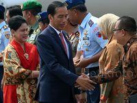 Presiden Joko Widodo Tiba di Tanah Air