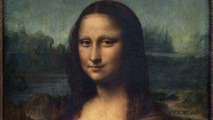 Ada Gambar Lain di Bawah Lukisan Mona Lisa