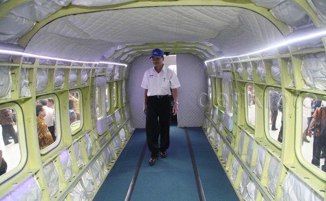 Penampilan Perdana Pesawat N219