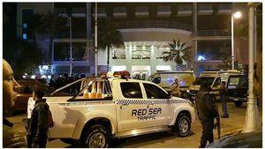 Penyerang Serbu Hotel di Mesir, Tiga Turis Cedera