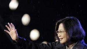 Tsai Ing-wen Menangi Pilpres Taiwan