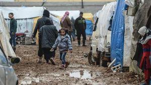 Jumlah Pengungsi Suriah yang Coba Masuk Turki Berlipat Ganda