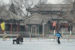 Spot Ice Skating Favorit Turis di Beijing