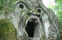 Penampakan Taman Monster di Italia