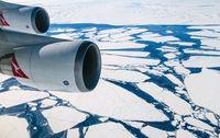 Pengalaman Langka, Terbang di Atas Kutub Selatan