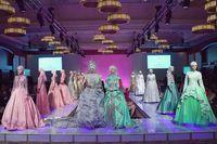 Gaun Mutiara Karya Anniesa Hasibuan Banjir Pujian di Couture Fashion Week, NY