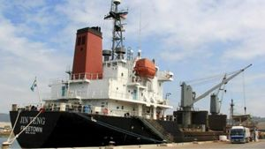 Filipina Tahan Kapal Milik Perusahaan Korea Utara
