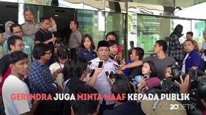 Sanusi Ditangkap, Gerindra Minta Maaf