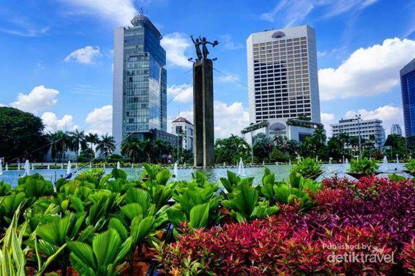 Berbagai Momen Car Free Day Jakarta Di Hari Minggu