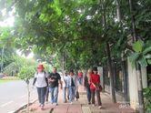 Akhir Pekan di Jakarta, Asyiknya Hunting Foto di Bundaran HI