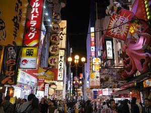 Tempat Paling Gaul di Osaka, Jepang: Dotonbori