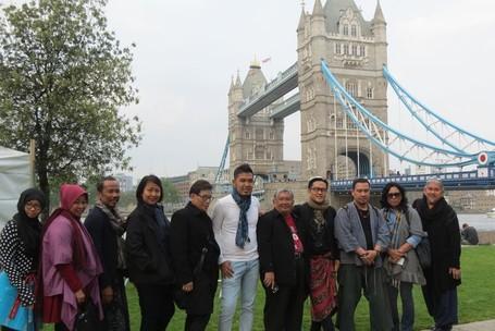 Sehari Jelang Indonesian Weekend, Potters Field Di London Jadi Meriah