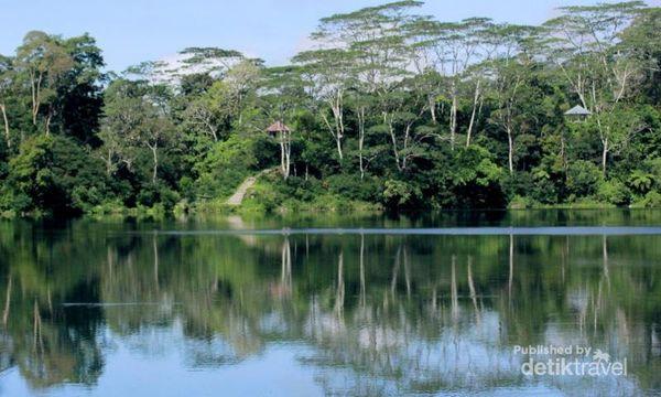 Sisi Lain Flores, Danau Ranamese Yang Hijau