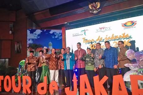 Tour De Jakarta Akan Jadi Ajang Promosi Untuk Tarik Wisman