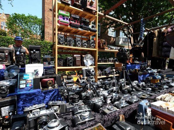 Portobello Road Market, Pasar Barang Antik Di London