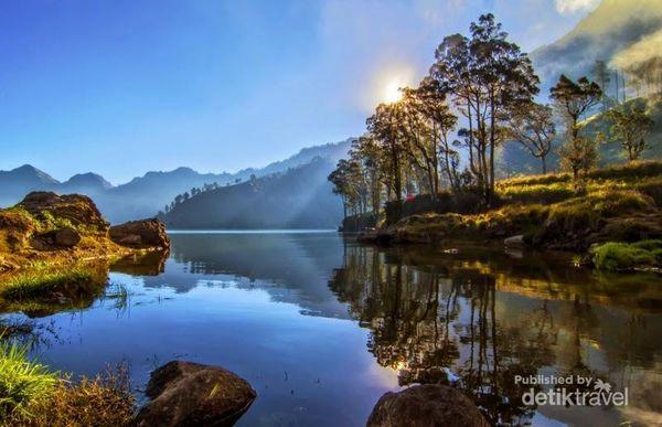 Surga Tersembunyi Di Gunung Rinjani, Lombok