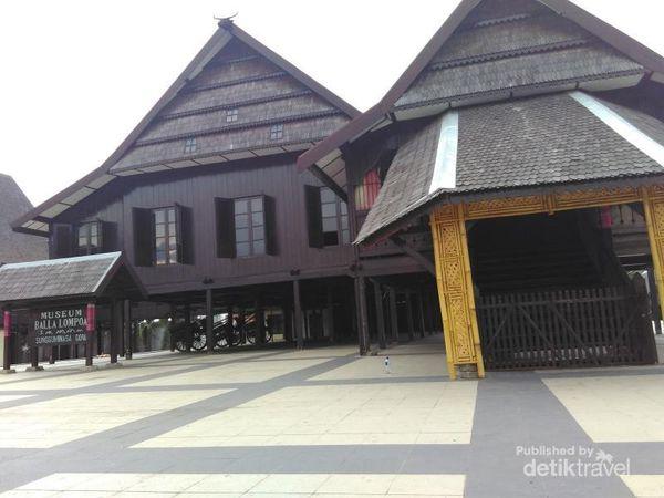 Museum Berbalut Rumah Adat Nan Megah Di Makassar