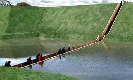 Jembatan Nabi Musa Yang Membelah Air Di Belanda