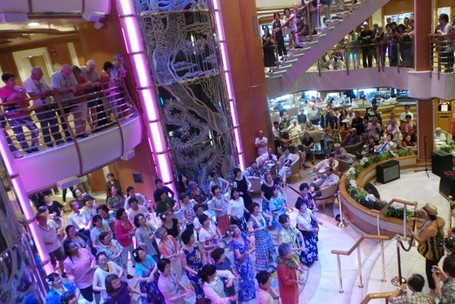 Dijamin Tak Bosan Di Kapal Pesiar Diamond Cruise, Banyak Kegiatan Seru