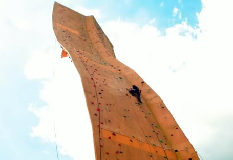 Inikah Panjat Dinding Paling Tinggi Di Dunia?