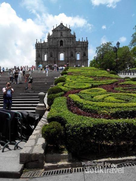 Reruntuhan Gereja Yang Ikonik Di Macau
