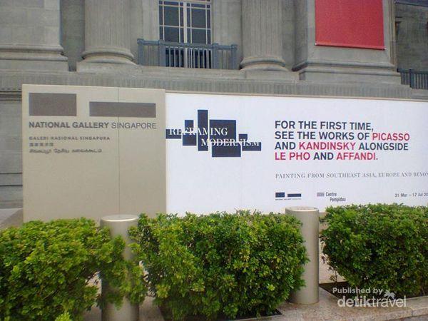 Kagum Akan Koleksi Seni Di Galeri Nasional Singapura