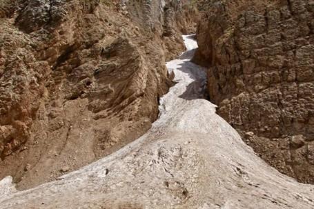 Aneh Tapi Nyata, Ada Gunung Es Di Timur Tengah