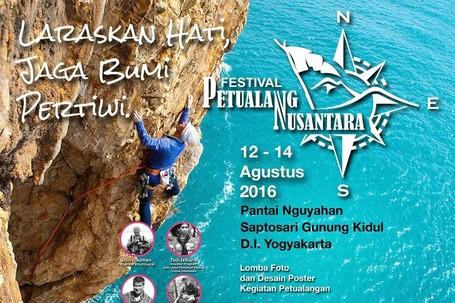 Sambut Hari Kemerdekaan, Ada Festival Petualang Nusantara Di Gunungkidul