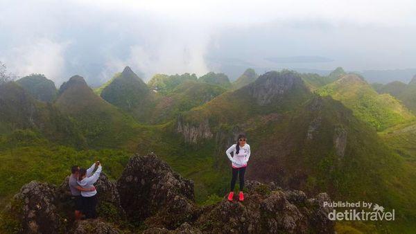 Puncak Osmena, Pemandangan Cantik Filipina Dari Ketinggian