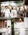 Pernikahan Kasual di Taman
