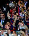 Gelar Ganda Barcelona
