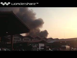 Kebakaran di Bandara Soekarno-Hatta
