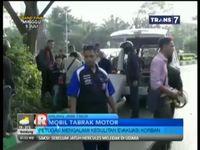 Mobil Tabrak Motor