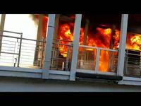 Dahsyat! Ini Video Amatir Terbakarnya Bus TransJ dan Halte Salemba