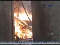 Gudang Penyimpanan Thinner Ludes Terbakar