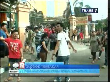 Pasar Glodok Terbakar
