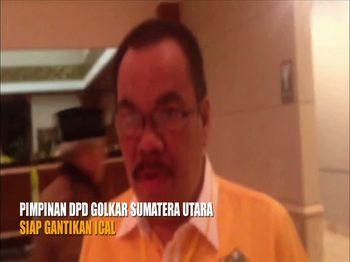 Pimpinan DPD Golkar Sumatera Utara Siap Gantikan Ical