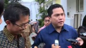 Erick Thohir Lapor Soal Piala Sudirman ke Jokowi
