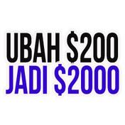 Ubah $200 Jadi $2000