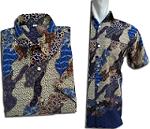 Kemeja Batik Motif Modern Limited