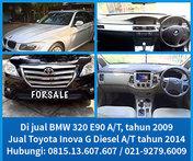 Bmw E90 A/T 2009 & Inova G A/T 2014