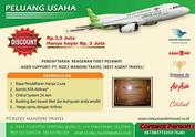 Peluang Usaha Travel Tiket Pesawat