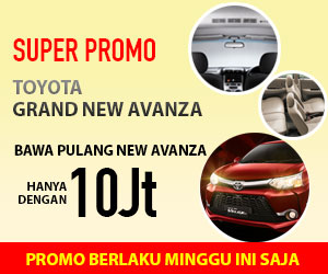 Super Promo Toyota Grand New Avanza