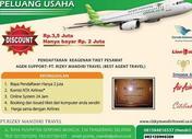 Bisnis Tiket Syariah Hanya 1 Jt