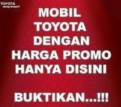 Toyota Dp&Angsuran Super Minim,Klik