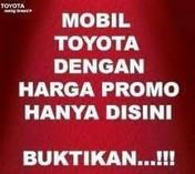 Toyota Promo Akhir Tahun ,Klik Klik